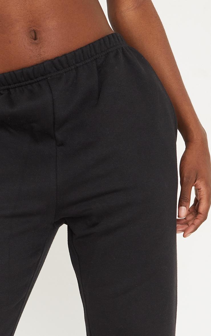 Tall Black Basic Cuffed Hem Joggers 4