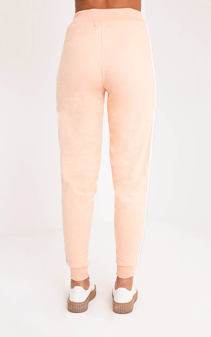 Gwen Nude Side Stripe Joggers 5