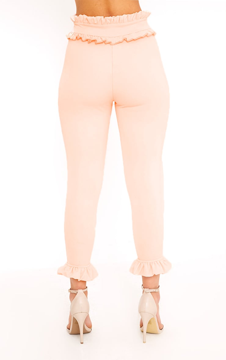 Keren Blush Frill Trim Trousers 3