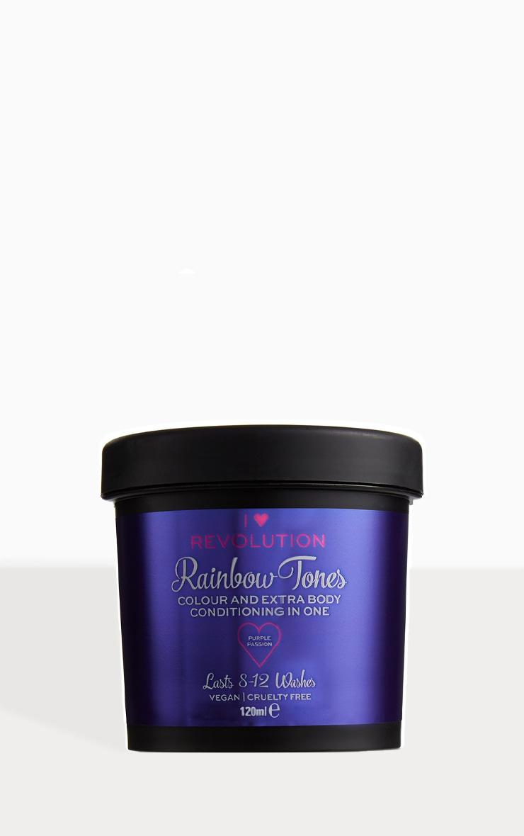 I Heart Revolution Rainbow Tones Hair Colour Purple Passion 1