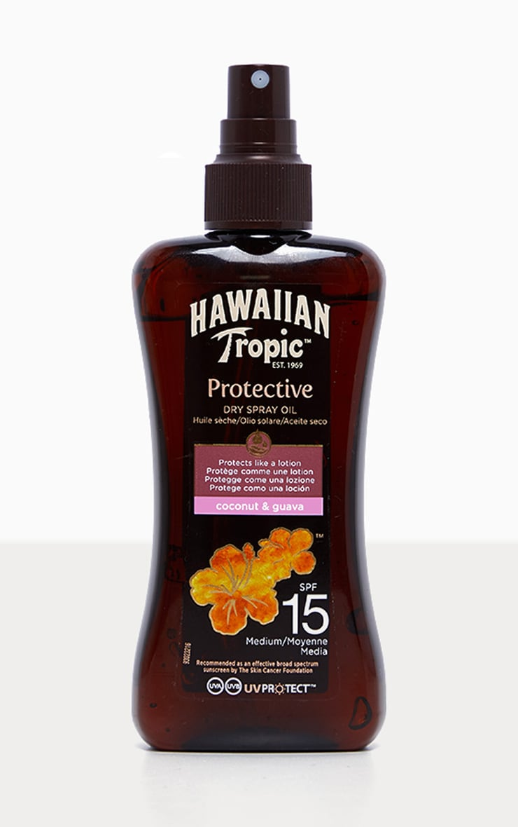 Hawaiian Tropic Protective Dry Spray Oil SPF 15 3