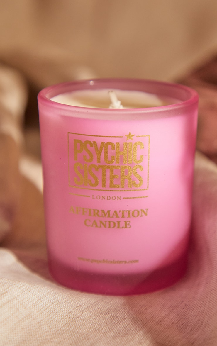 Psychic Sisters Love Mini Candle 1