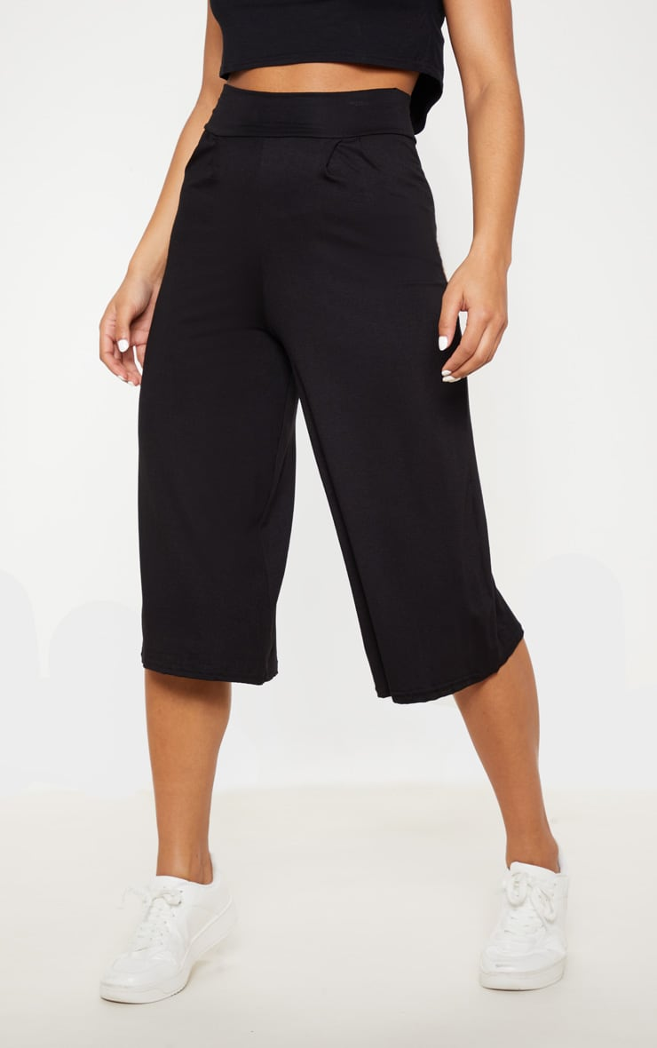 Basic Black Culottes 2