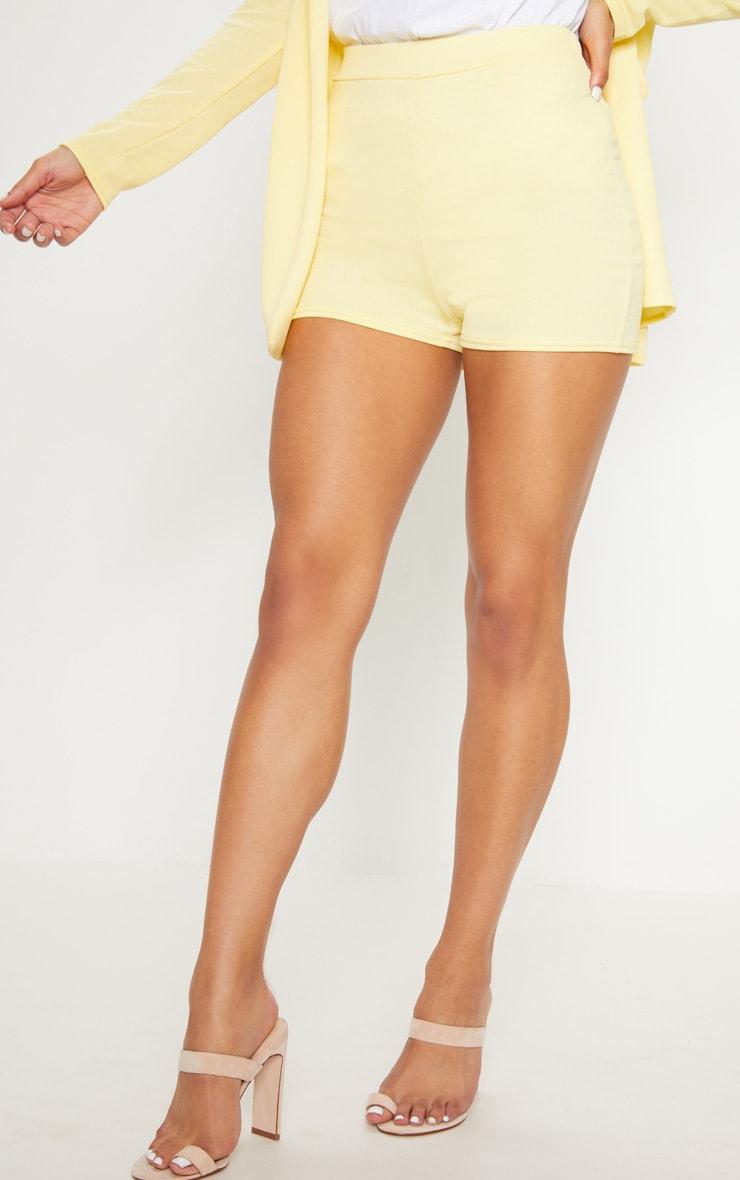 Lemon Striped Suit Short 2