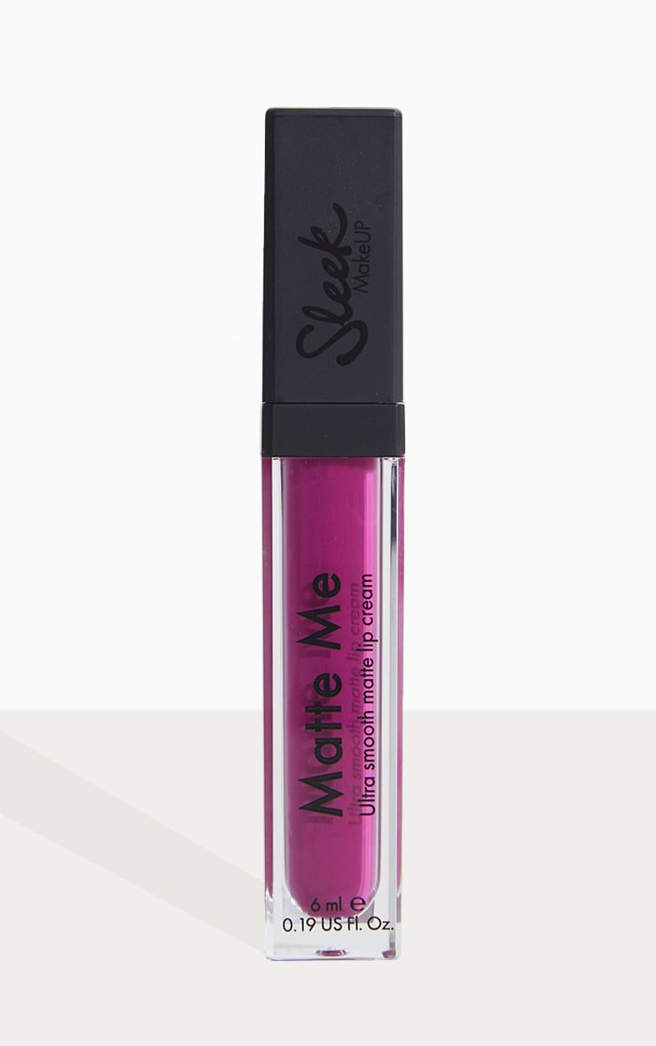 Sleek Fandango Purple Matte Me Liquid Lipstick 2