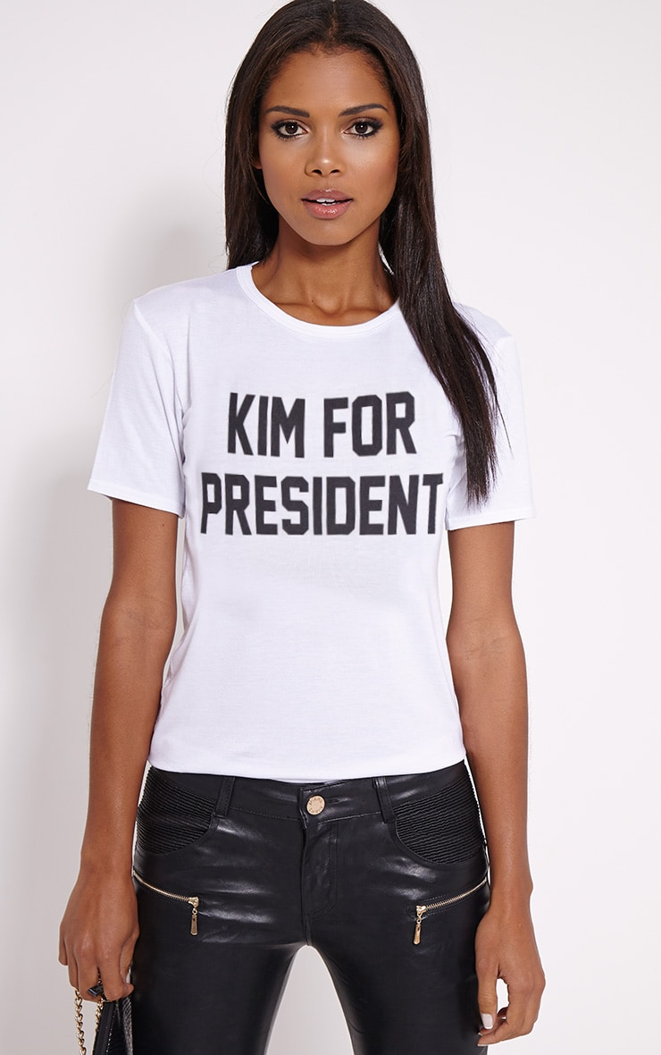 for President White T-Shirt 1