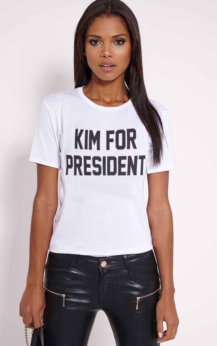 for President White T-Shirt 1