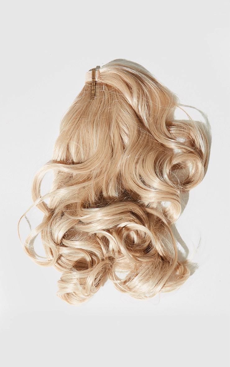 Lullabellz Mini Grande 18 90s Curl Wraparound Pony Light Golden Blonde 5
