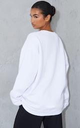 White Ultimate Oversized Sweatshirt 2