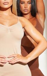 Nude Shapewear Control Slip Dress 4