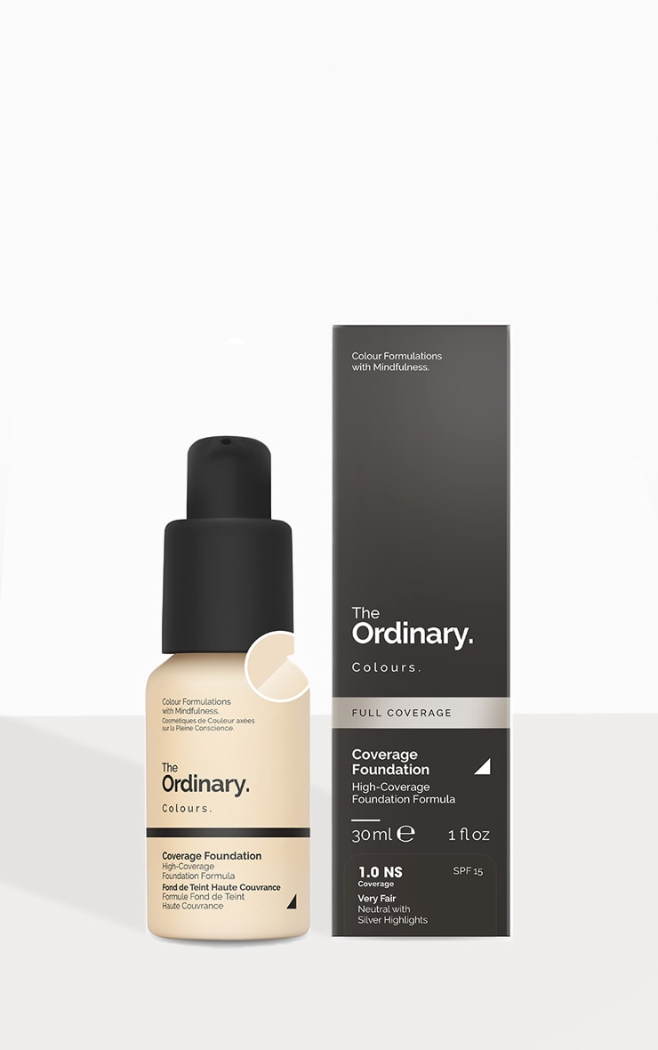 The Ordinary Coverage Foundation 1.0 NS SPF 1