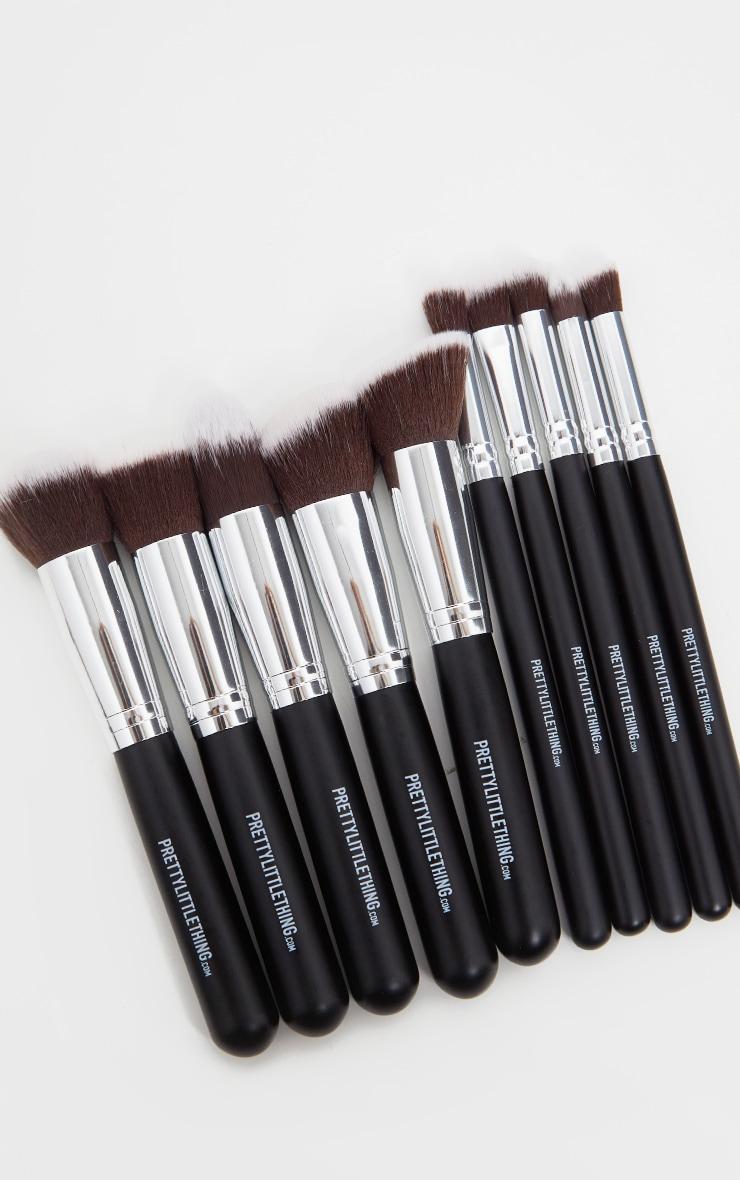 PRETTYLITTLETHING 10 Piece Kabuki Makeup Brush Set 2