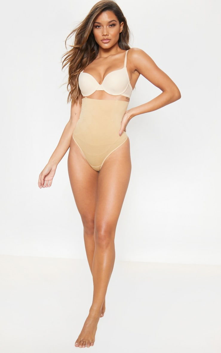 Nude Shapewear High Waist Control Thong 5