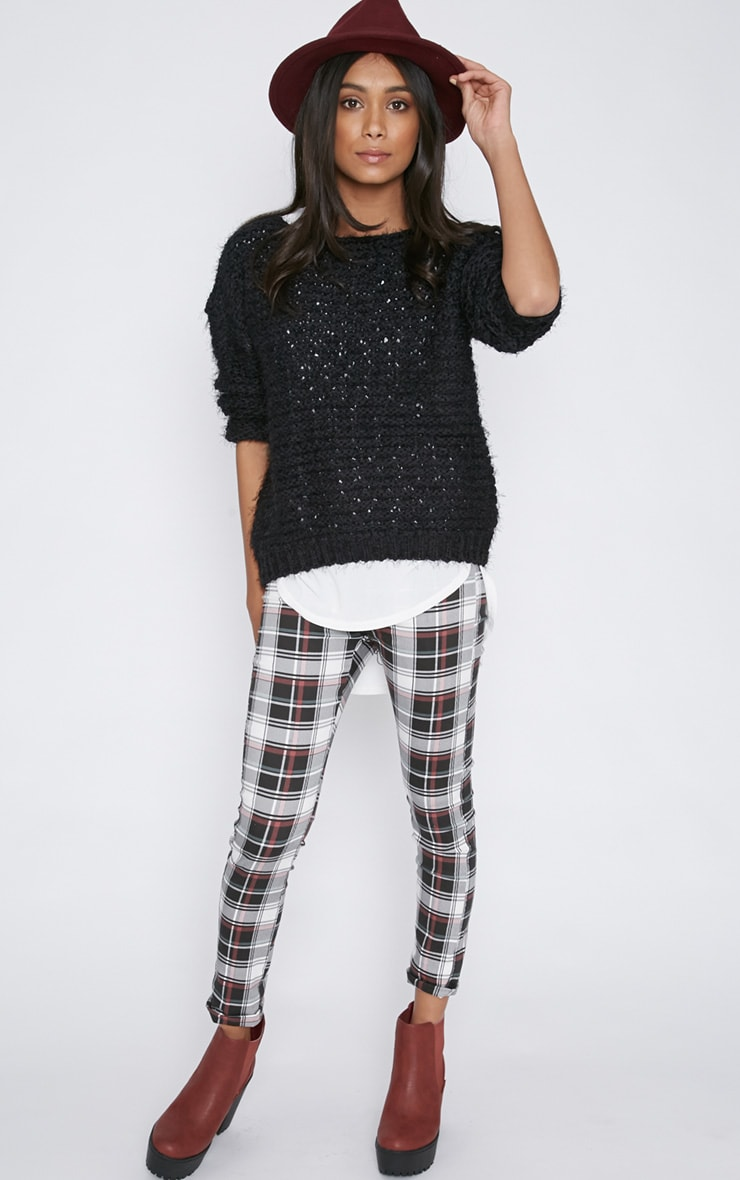 Hadley Black Cropped Jumper  4