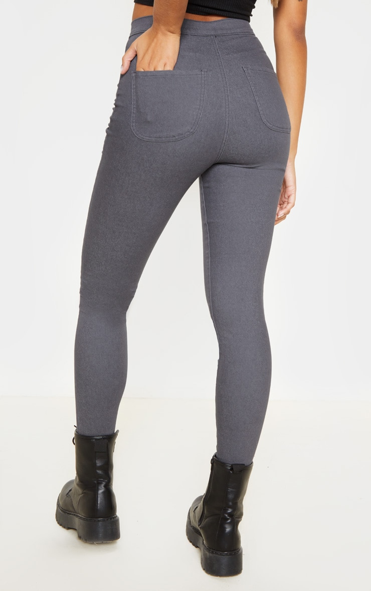 Charcoal Denim Jegging 4