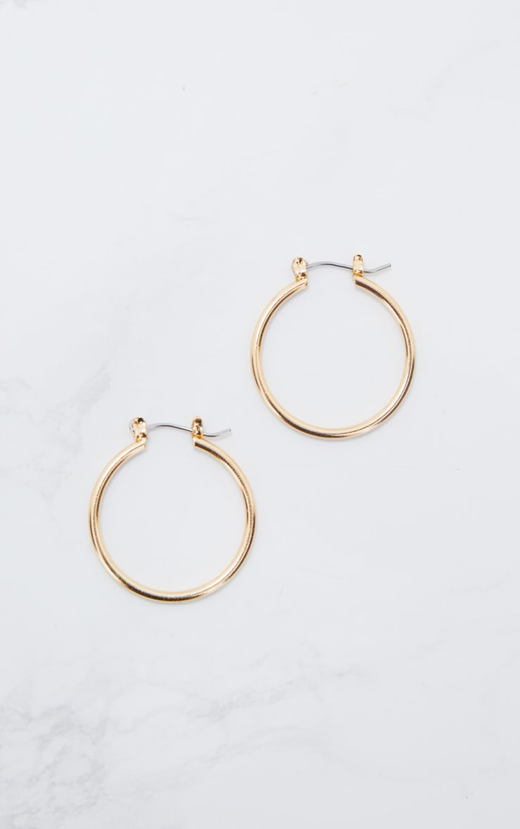 Gold Mini Hoop Earrings 3