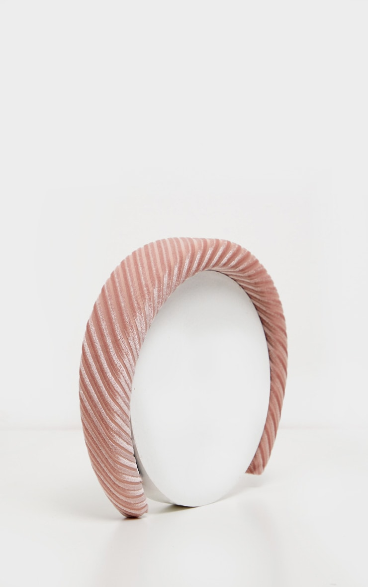 Rose Textured Alice Headband 2