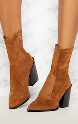 Danica Stone Western Sock Boots 2