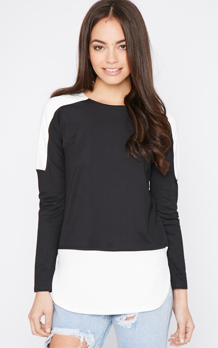 Etna Monochrome Block Panel Top  1