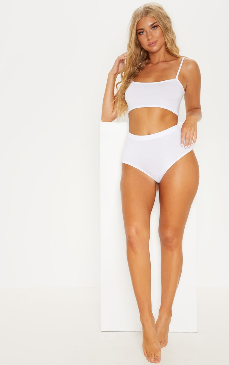 White Basic Co-Ord