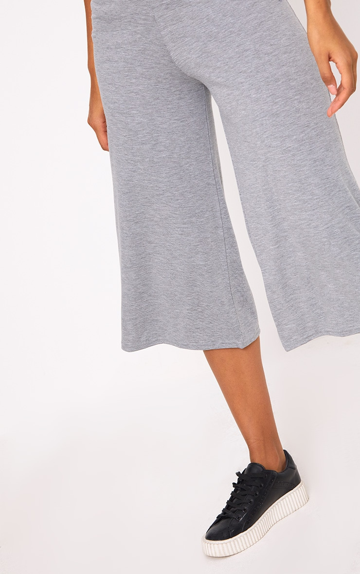 Grey Basic Culottes 5