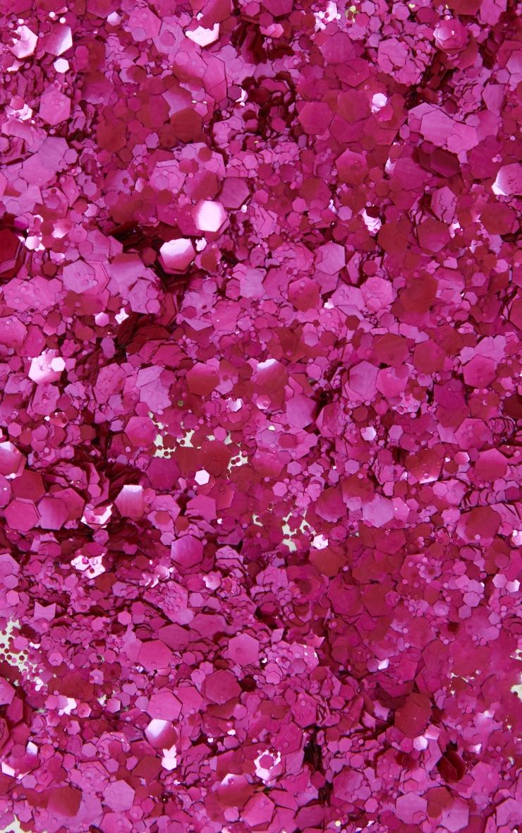 SHRINE Biodegradable Chunky Pink Glitter 3