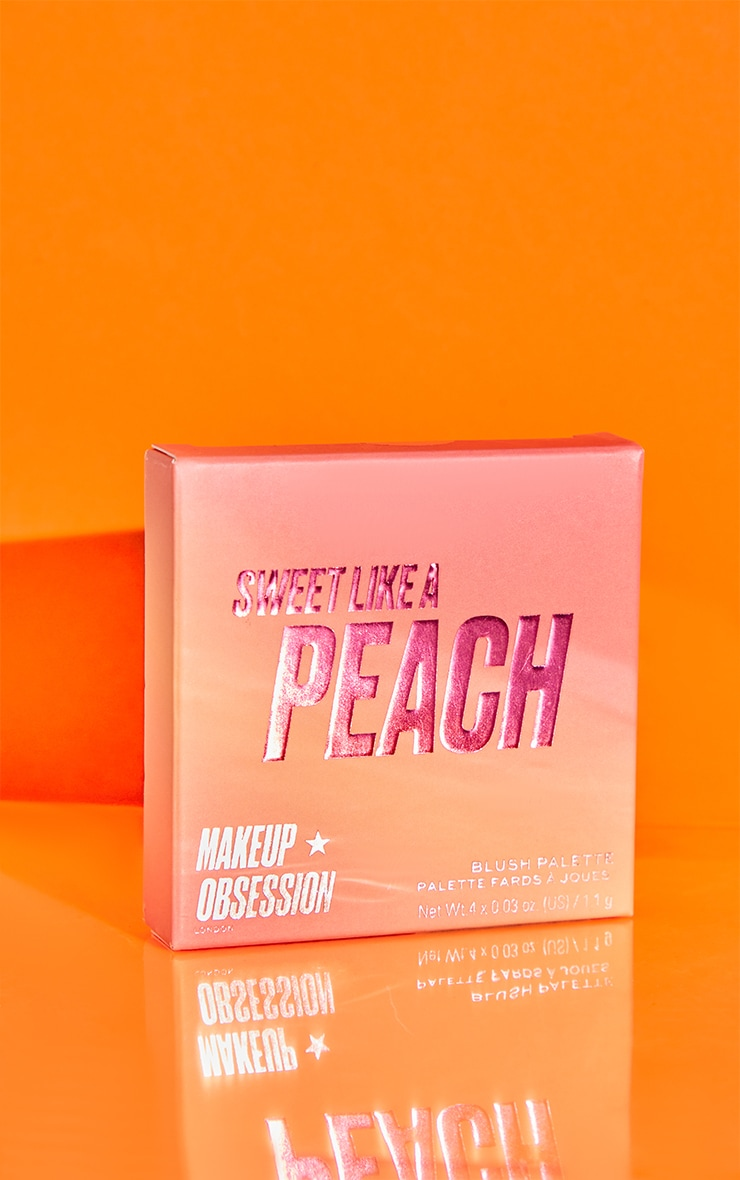 Makeup Obsession Blush Crush Palette Sweet as a Peach 2