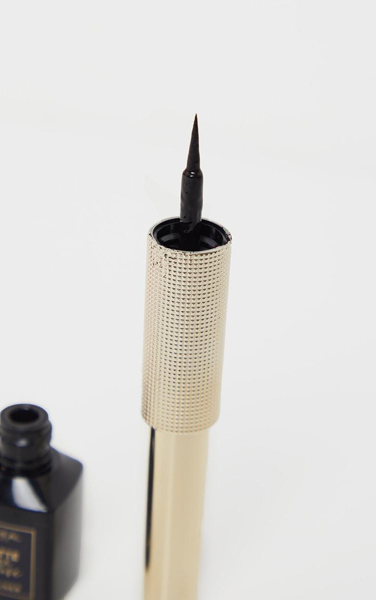 L'Oréal Paris - Eyeliner liquide Matte Signature - 01 Noir 3