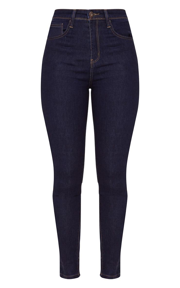 5 Pocket Indigo Skinny Jean 3