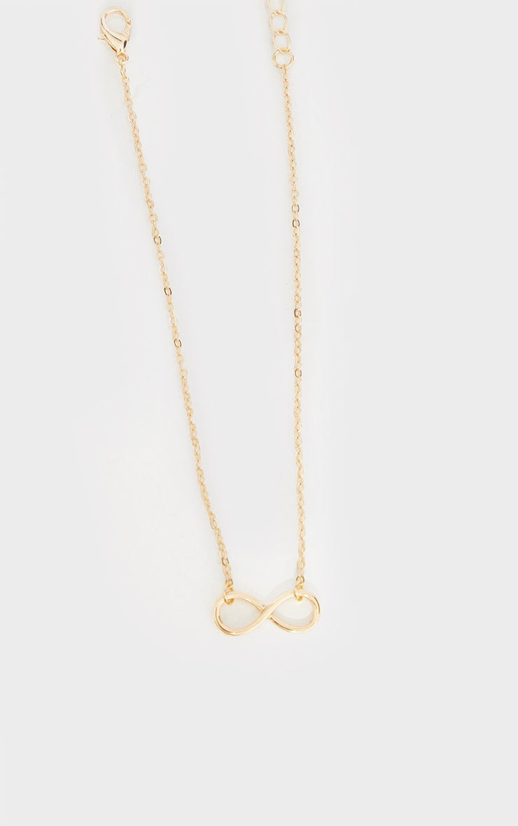 Gold Infinity Anklet 2