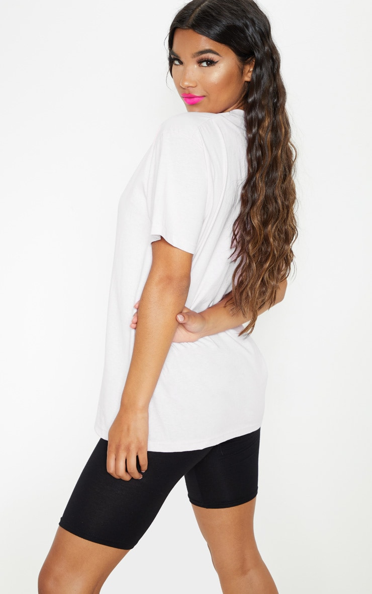 UNISEX White LOVE WINS Oversized T-shirt 3
