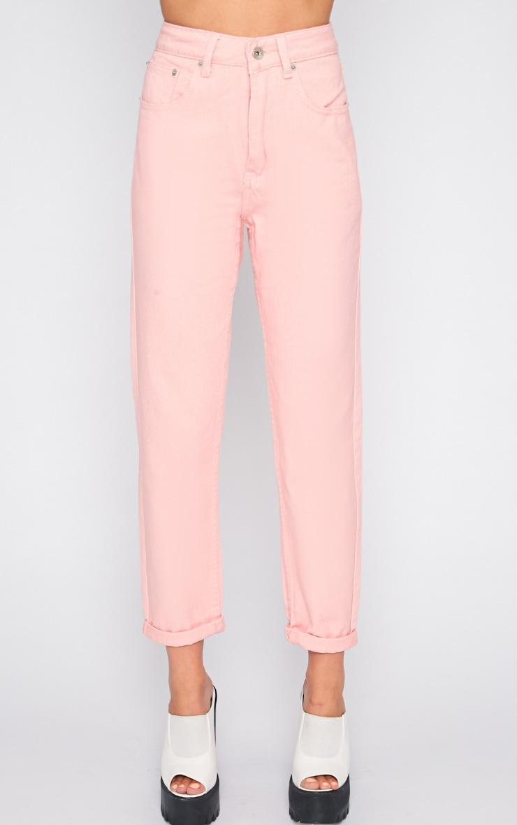 Charlie Pink Mom Jeans 3