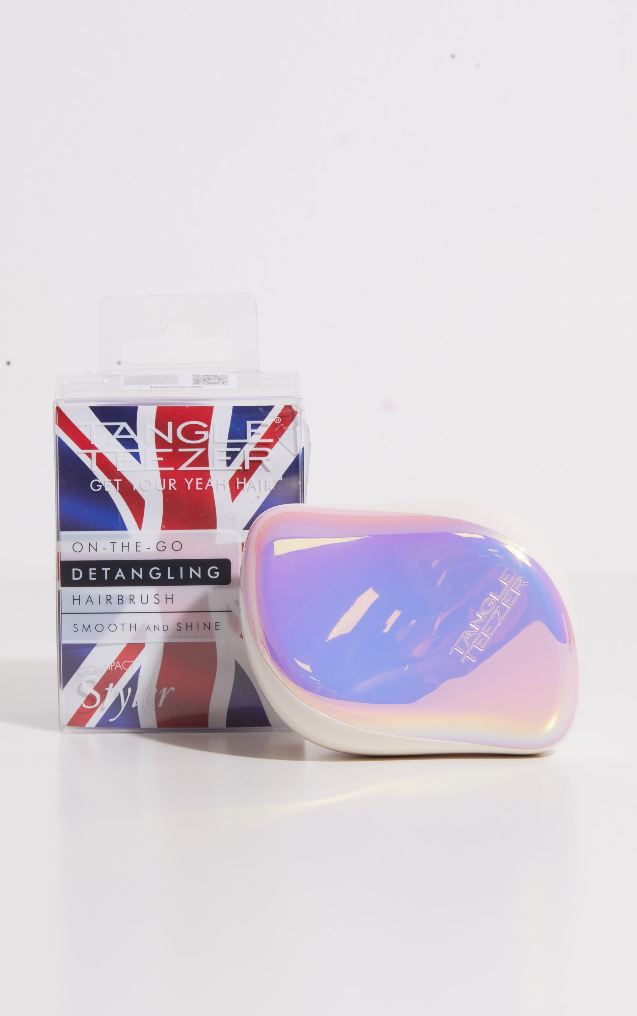 Tangle Teezer Compact Hairbrush Holo Hero 3