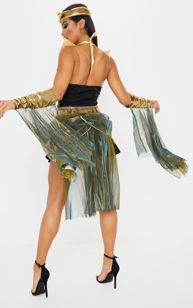 Black Sexy Egyptian Goddess Costume 2