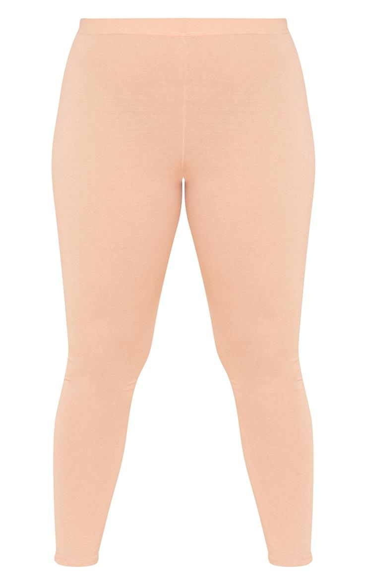 RECYCLED Plus Pale Tan Leggings 3