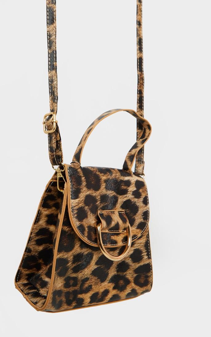 Leopard Ring Detail Mini Bag 5