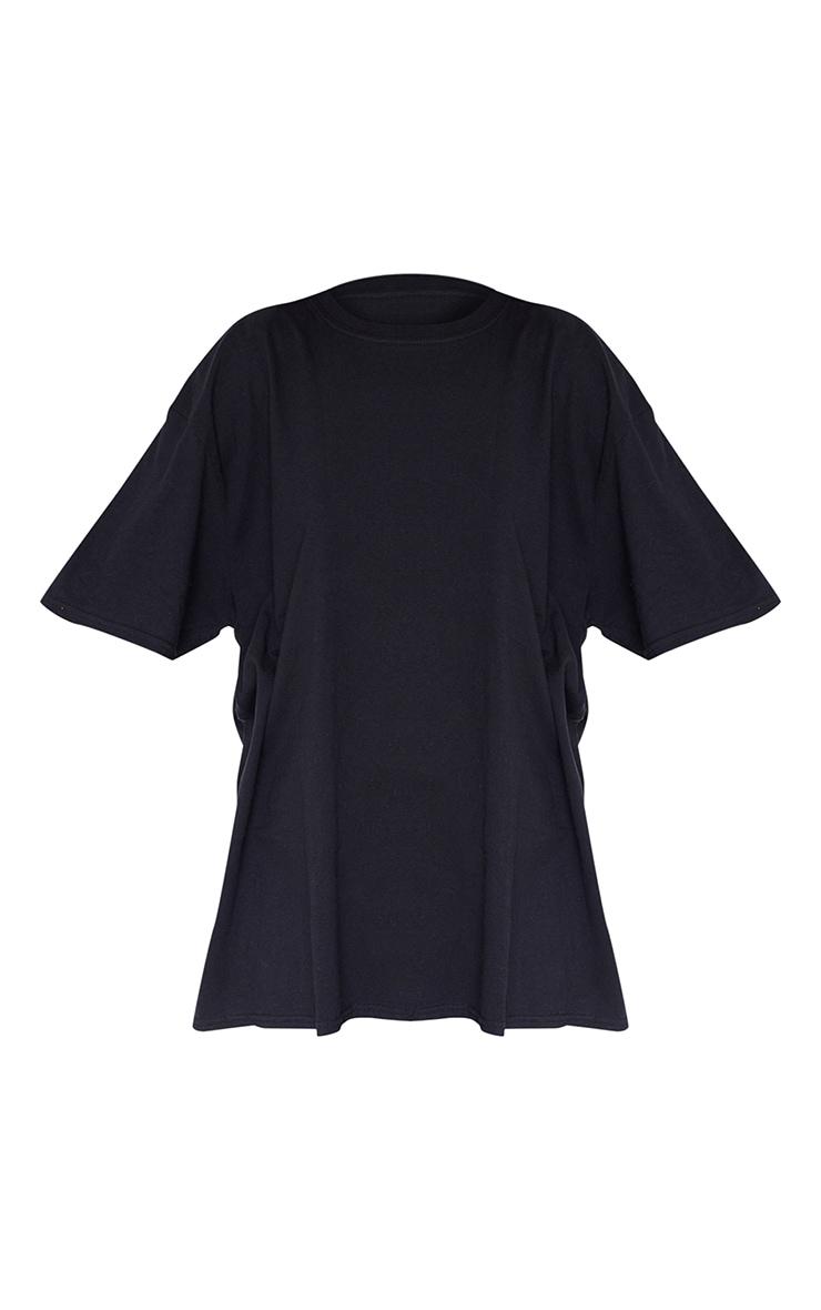 Tee-shirt boyfriend noir 5