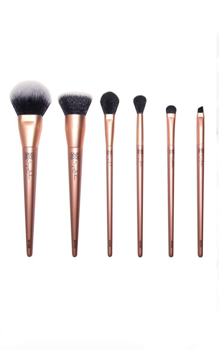 SOSUBYSJ Remastered 6 Piece Luxury Brush Set 2
