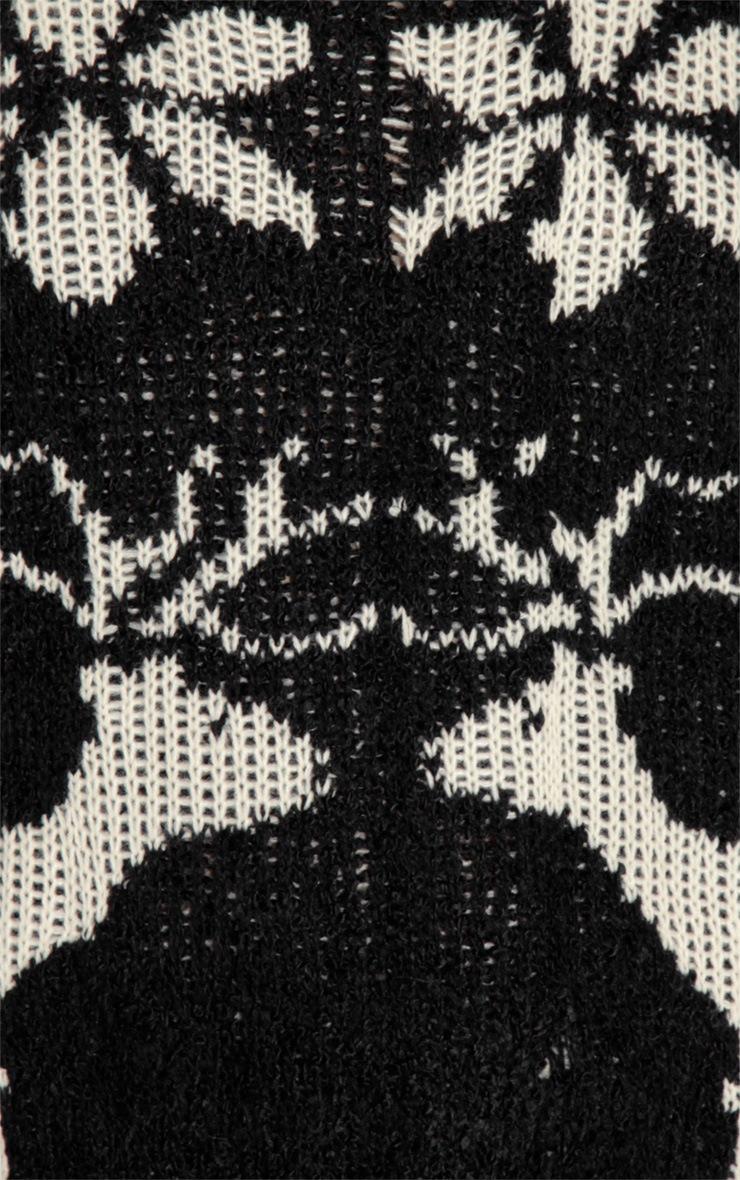 Black Reindeer Jumper-One Size 4