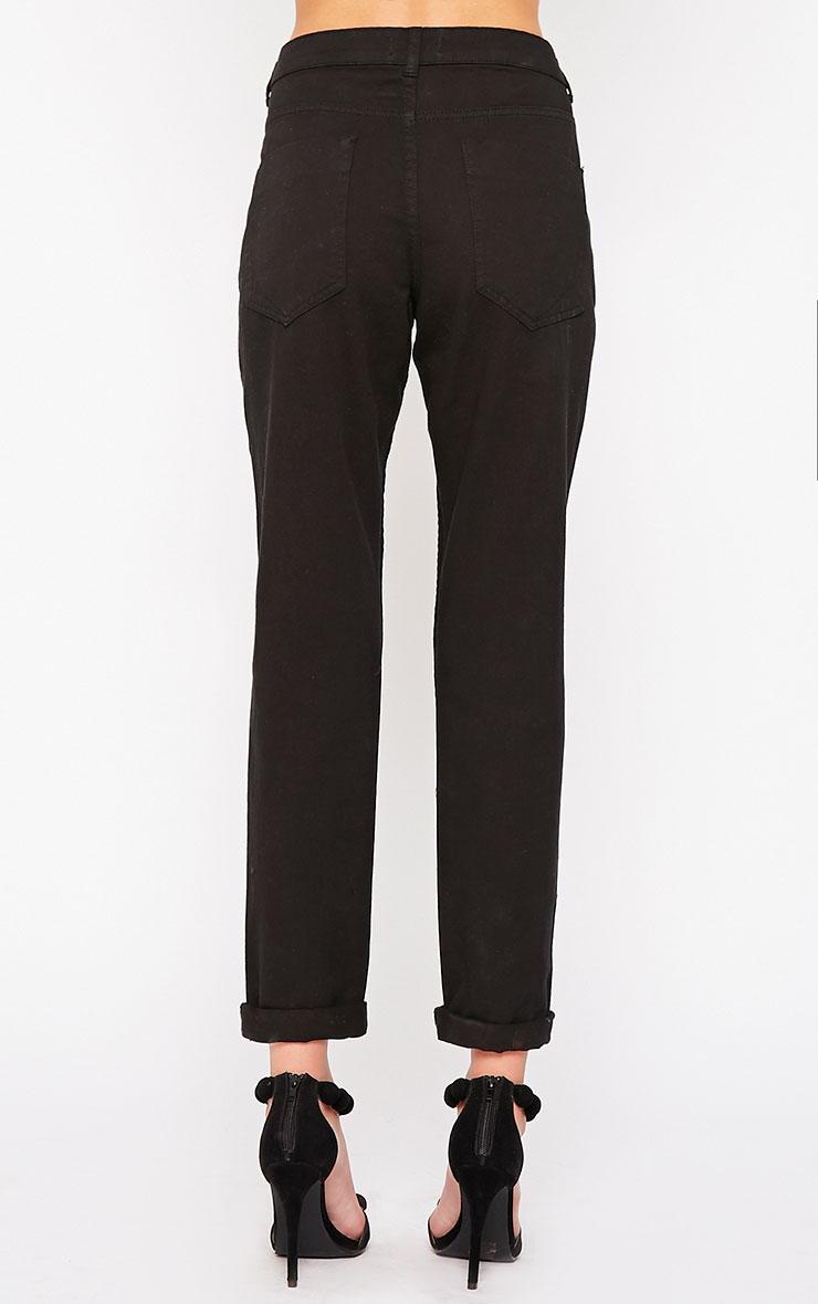 Kada Black Extreme Rip Jeans 4