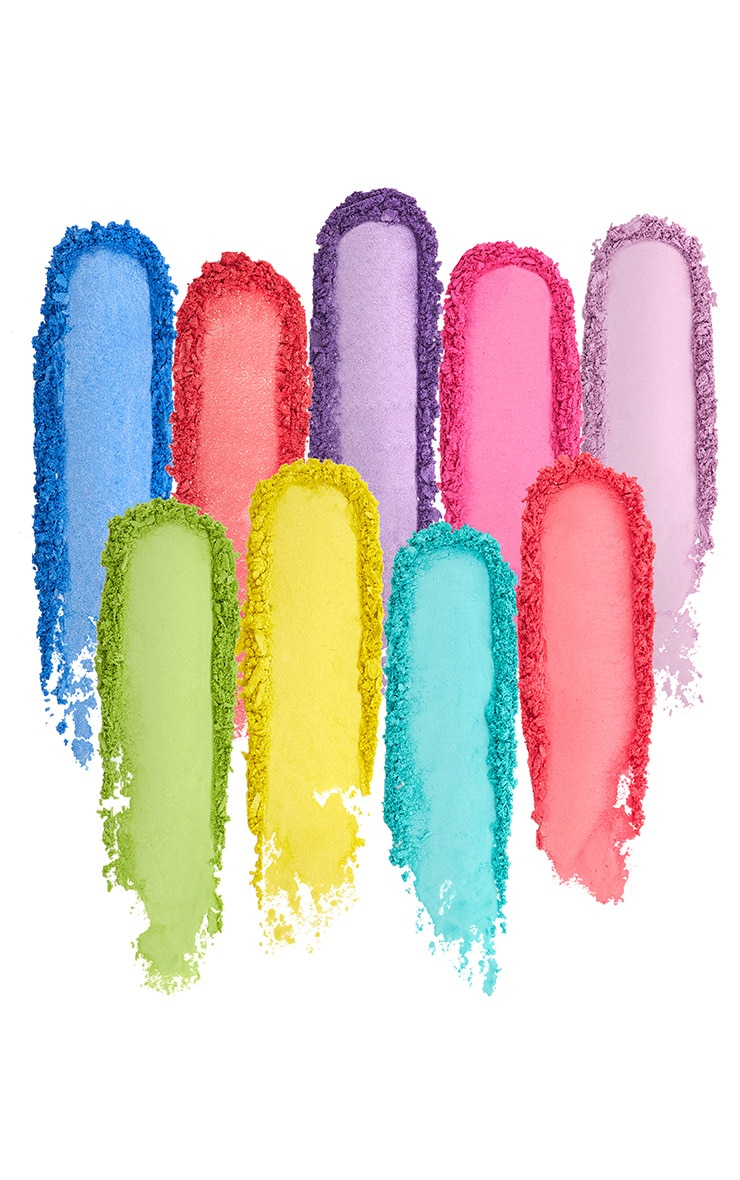Barry M Neon Brights Eyeshadow Palette 3