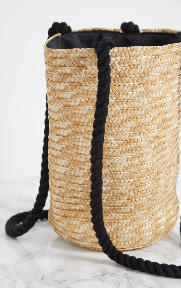 Straw Bucket Bag 4