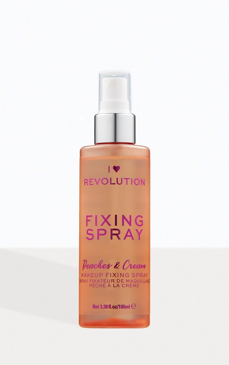 I Heart Revolution Fixing Spray Peaches & Cream 1