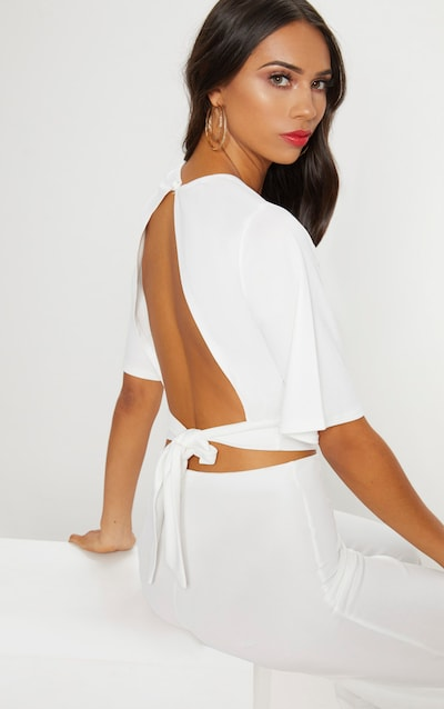 Crop Tops   Short & Cropped Tops   PrettyLittleThing IE