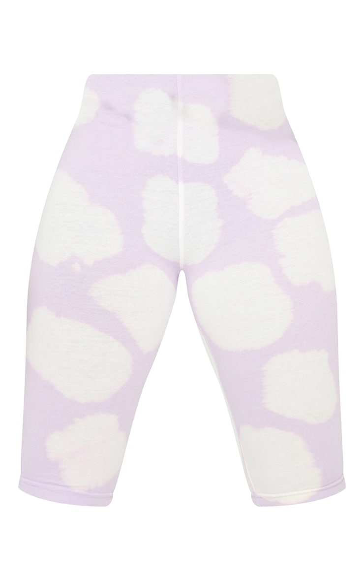 Tall Lilac Oversized Tie Dye Short 5