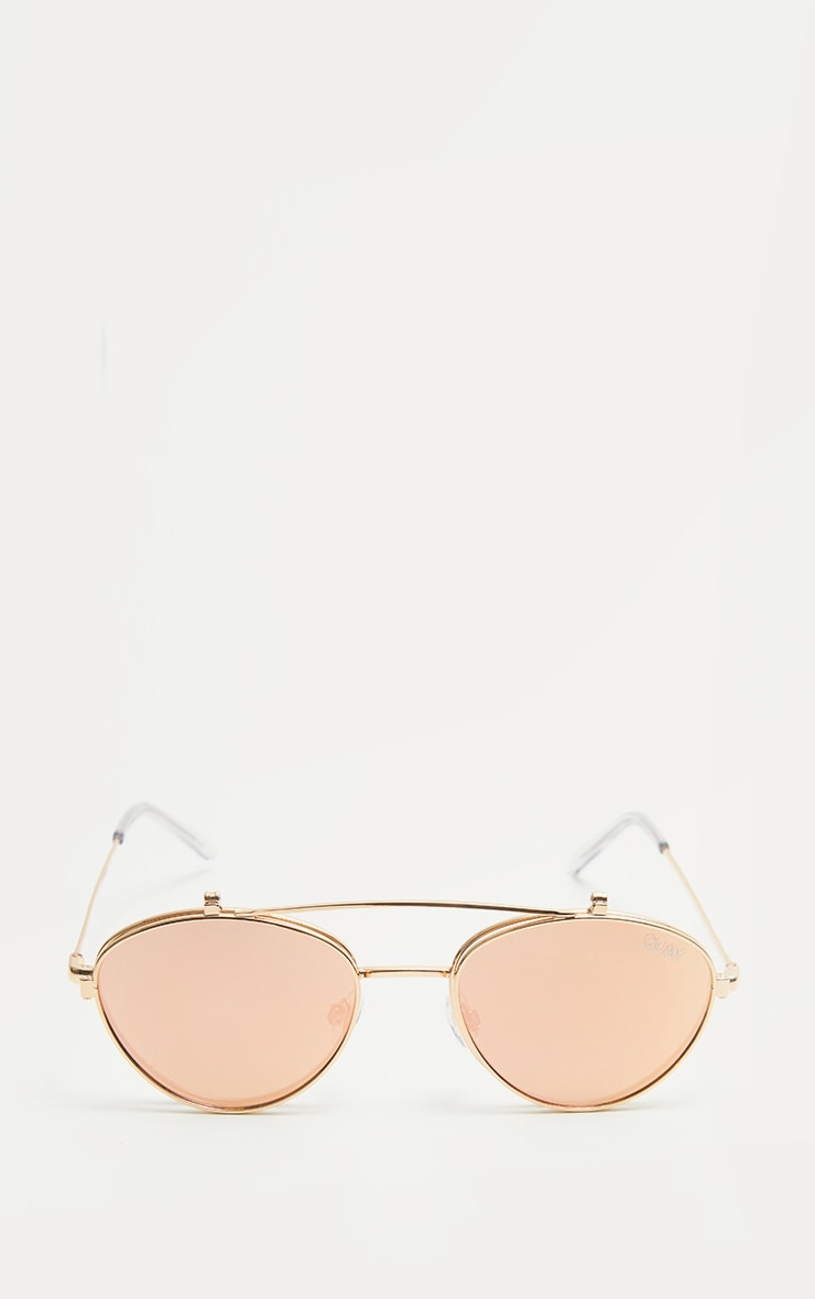 QUAY AUSTRALIA Rose  X Elle Ferguson  Collaboration Elle Sunglasses 2