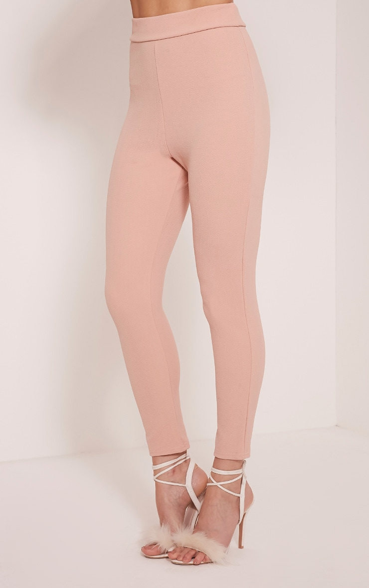 Evalyn Blush Cropped Trousers 4