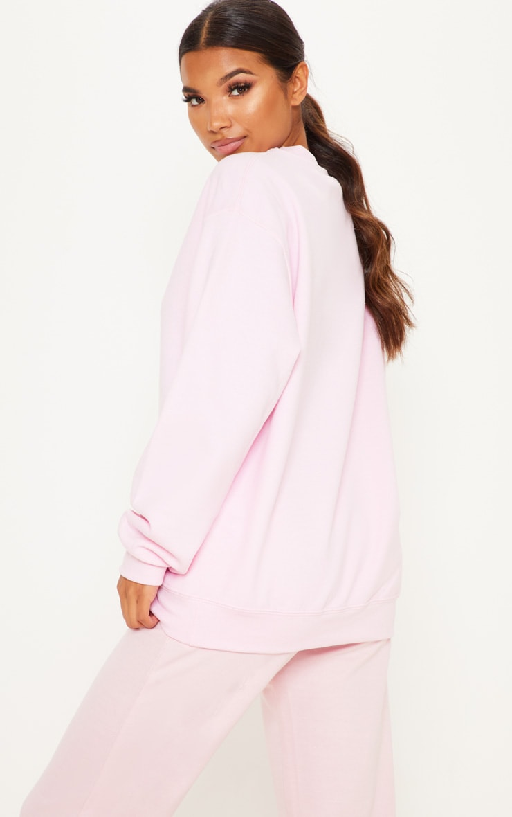 Light Pink Ultimate Oversized Sweater 2