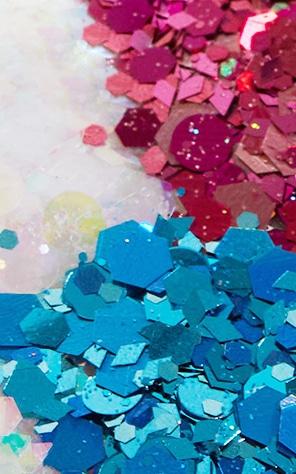 Go Get Glitter Mermaid Vibes Set de pots de paillettes 2