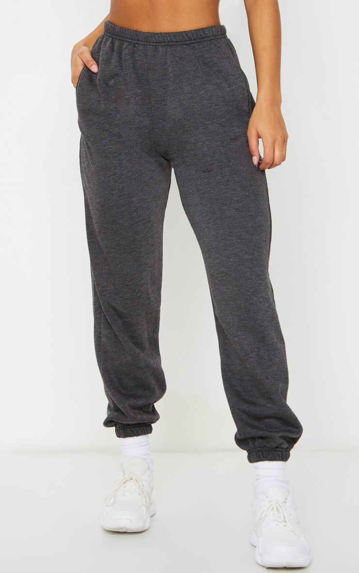 Charcoal Casual Track Pants 2